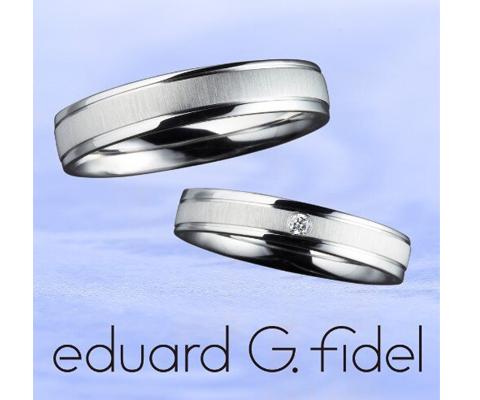 eduard G. fidel E20842/35-E10842/40 結婚指輪