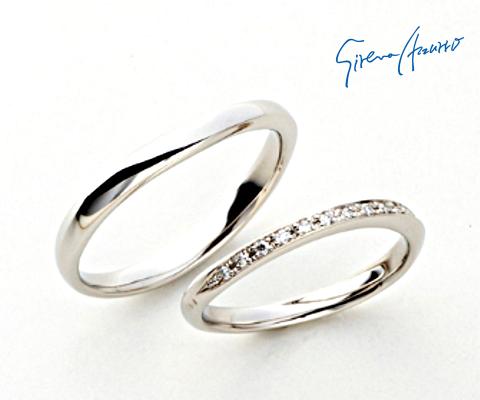 コンスタンテ 結婚指輪 【セイレーンアズーロ】