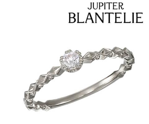 JUPITER BLANTELIE petit blanche RING 婚約指輪