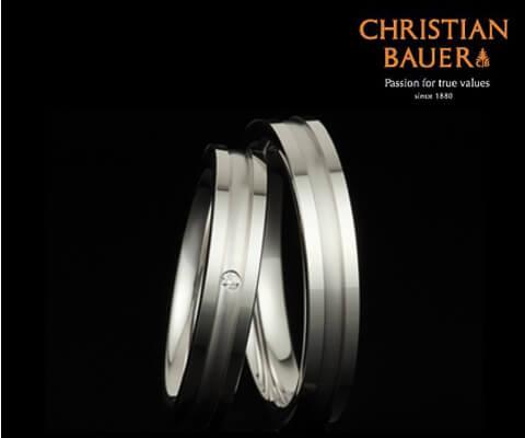 CHRISTIAN BAUER 241170&273473 結婚指輪