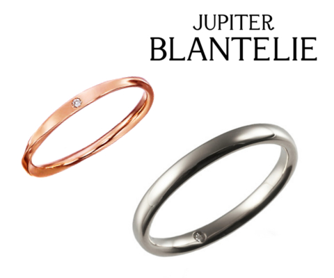 lu unfre RING & vrai RING マリッジリング 【ジュピター-JUPITER BLANTELIE】