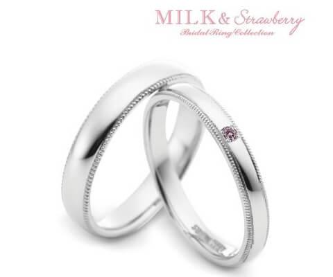 MILK & Strawberry エチュード 結婚指輪