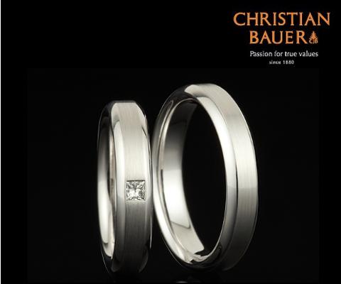 273891&241431 結婚指輪 【クリスチャンバウワー】