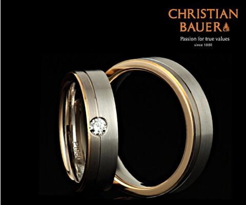 CHRISTIAN BAUER 273733&241337 結婚指輪