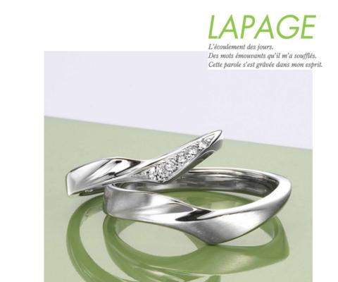 クレマチス 結婚指輪 【ラパージュ】