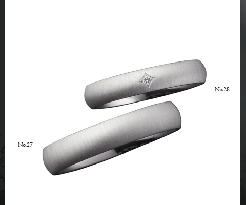 E10816/40   E20816/35  結婚指輪 【ユーロウエディングバンド】