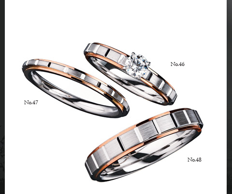 E30760/20 E30760/40  結婚指輪 【ユーロウエディングバンド】