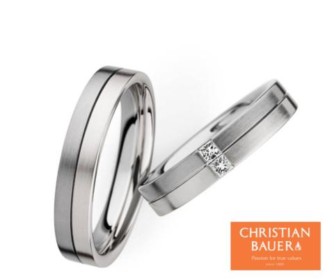 273481&243478 結婚指輪 【クリスチャンバウワー】