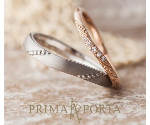 オラトリオ 結婚指輪 【プリマポルタ】