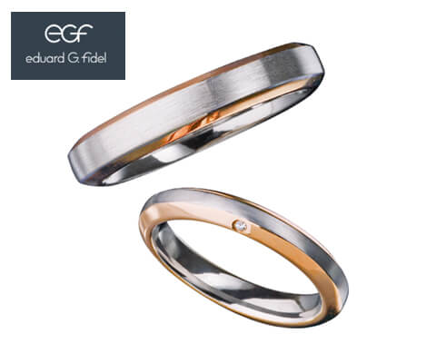 eduard G. fidel E30982/40&E40981/30 結婚指輪