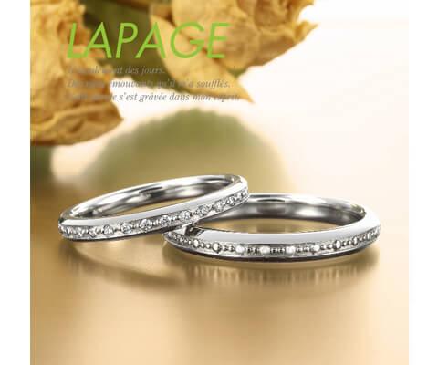 LAPAGE ラ・マドレーヌ 結婚指輪
