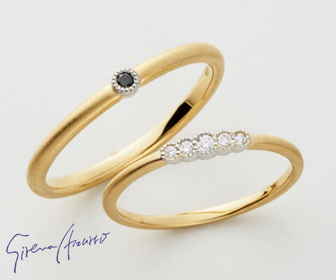 Sirena Azzurro レスピラメント 結婚指輪
