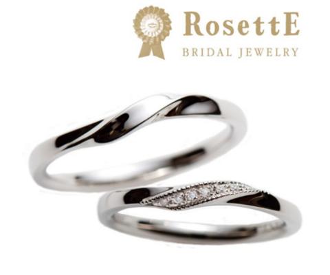 泉 結婚指輪 【ロゼット】