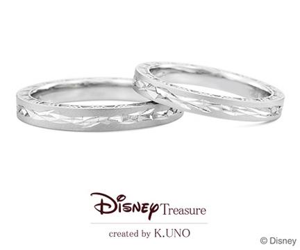 アナと雪の女王 結婚指輪 【ケイウノ】