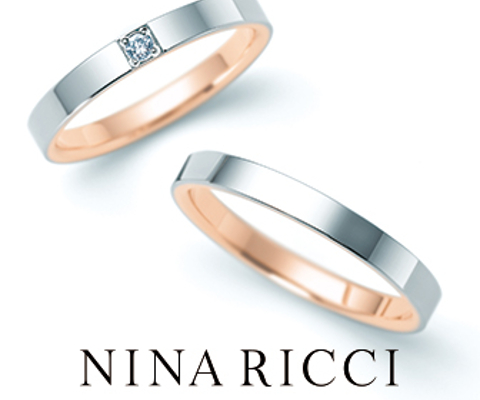 6R1F07/F08 結婚指輪 【ニナリッチ】