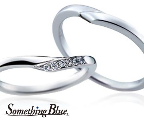 SB882/883 結婚指輪 【サムシングブルー】