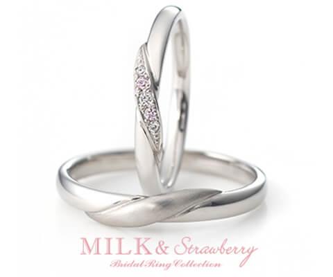 MILK & Strawberry エスペランサ 結婚指輪
