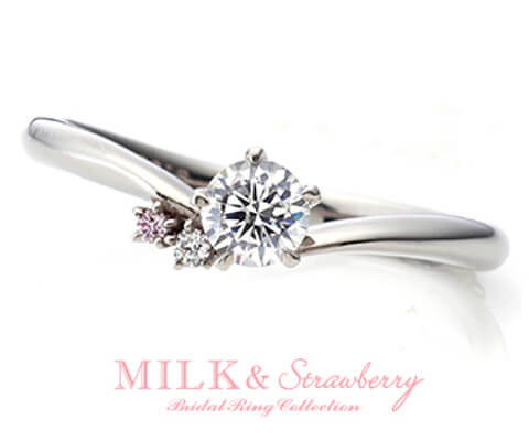 MILK & Strawberry ボヌール 婚約指輪