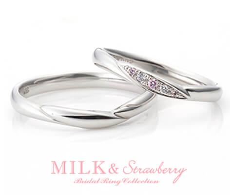 MILK & Strawberry オーバーチュア 結婚指輪