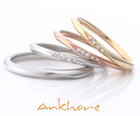 Ankhore シンフォニア 結婚指輪