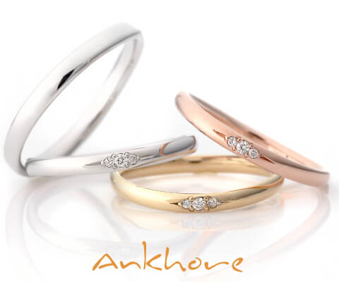 Ankhore パルマ 結婚指輪