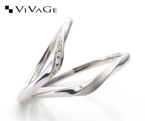 レヴリー 結婚指輪 【ビバージュ】