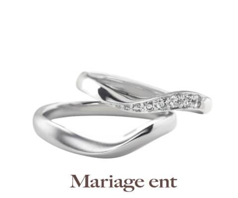 Mariage ent シェリール 結婚指輪