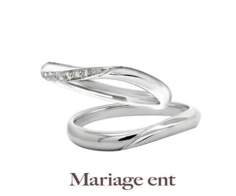 Mariage ent ビーナス 結婚指輪