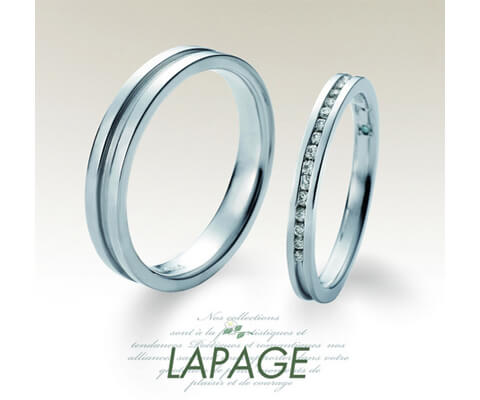 LAPAGE リヴィエール 結婚指輪