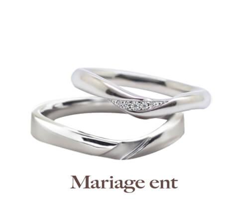 Mariage ent サミュゼ 結婚指輪