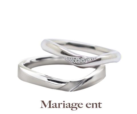 サミュゼ 結婚指輪 【マリアージュ エント】