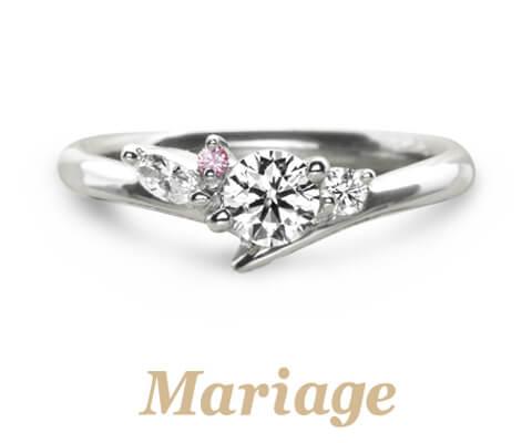 Mariage ent プレズィール 婚約指輪