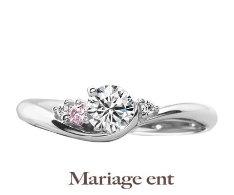 Mariage ent シェリール 婚約指輪