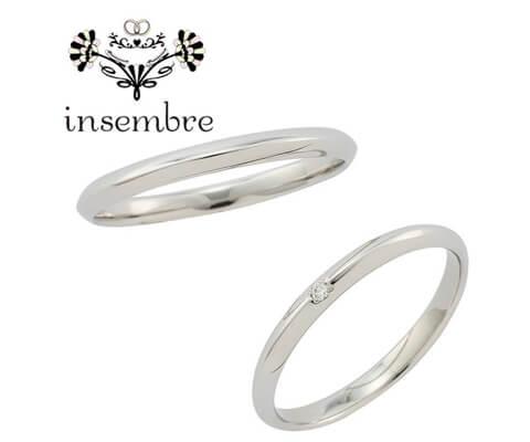 insembre INS02 結婚指輪