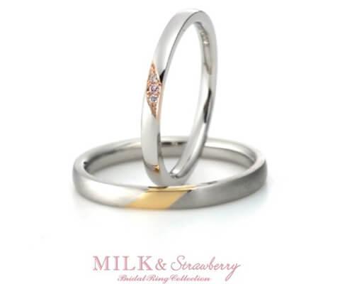 MILK & Strawberry エスティーム  結婚指輪