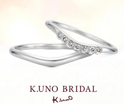 ハピネスクラウンⅢ 結婚指輪 【ケイウノ】
