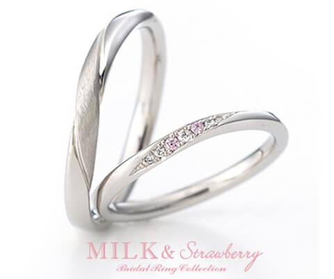 MILK & Strawberry アンシャンテ 結婚指輪