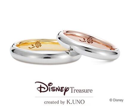 美女と野獣 結婚指輪【ケイウノ】
