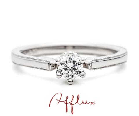 シャンティ― 婚約指輪  【アフラックス】