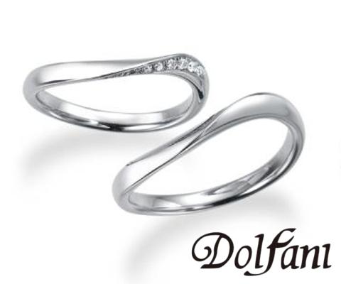 ナチュラ  結婚指輪 【ドルファーニ】