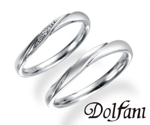 エクリ  結婚指輪 【ドルファーニ】