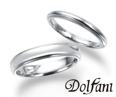 ミリア  結婚指輪 【ドルファーニ】