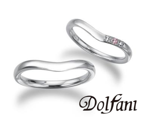 ピアチェ  結婚指輪 【ドルファーニ】