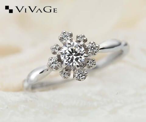VIVAGE フェット 婚約指輪