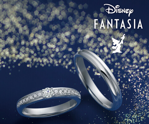Disney FANTASIA ブルームマーチ 結婚指輪