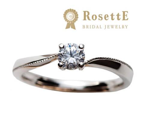 RosettE 心 婚約指輪