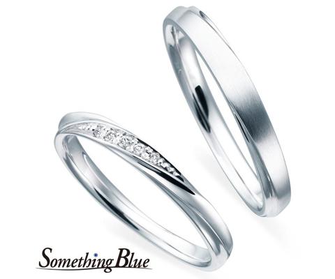 SB826/827 結婚指輪 【サムシングブルー】