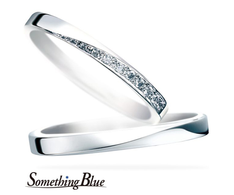 SB863/864 結婚指輪 【サムシングブルー】