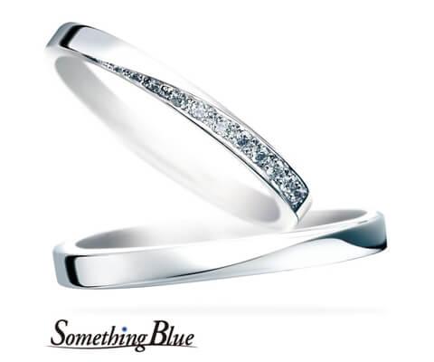 Something Blue スターダスト 結婚指輪 SB863/864