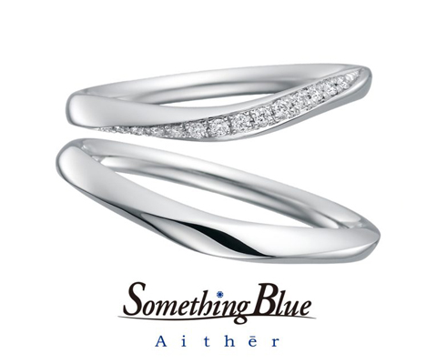 SH704/SH705 結婚指輪 【サムシングブルー】